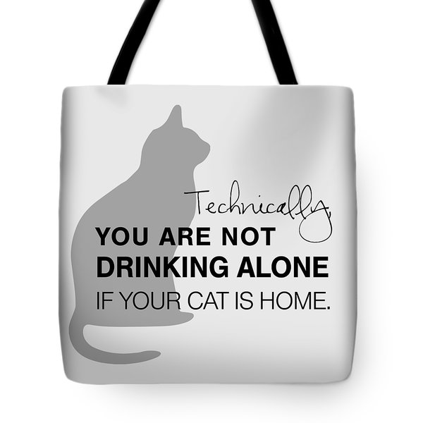 Drinking With Cats Tote Bag