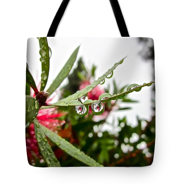 Drip And Drop Tote Bag by Gwyn Newcombe