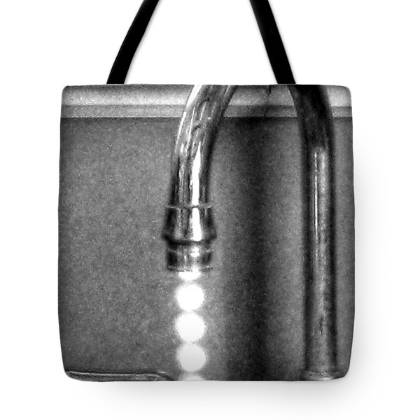 Tote Bag featuring the photograph ...drip...drip...drip... by Steven Huszar