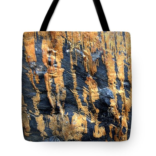 Dripping Gold Tote Bag