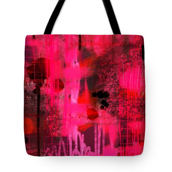 Dripping Pink Tote Bag