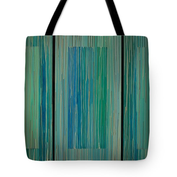 Drippings Triptych Tote Bag