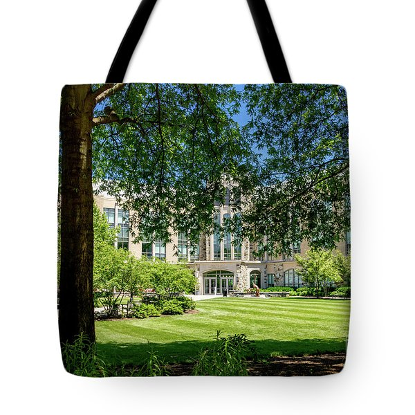 Tote Bag featuring the photograph Driscoll Hall by William Norton