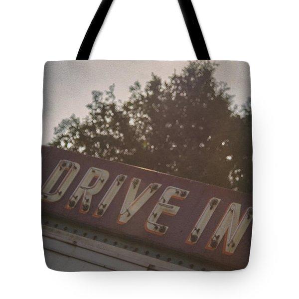 Drive In II Tote Bag