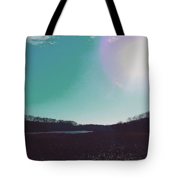 Take The Long Way Home Tote Bag by Kate Arsenault