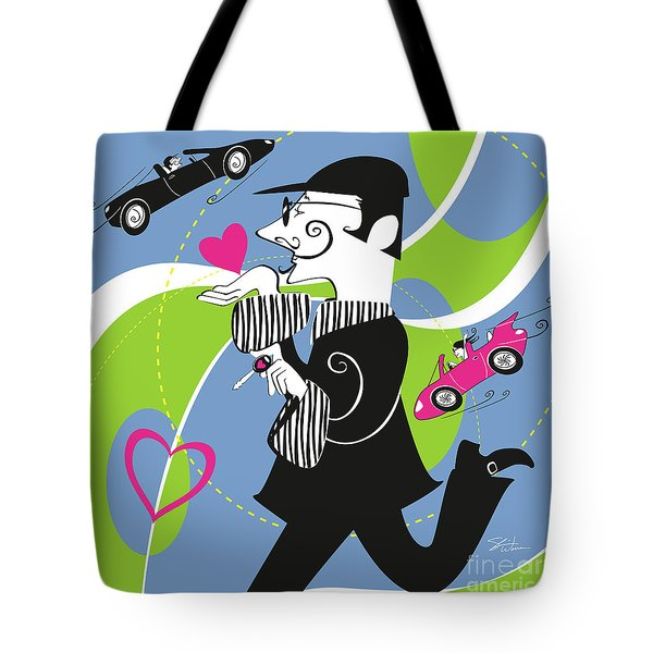 Driven To Love Tote Bag