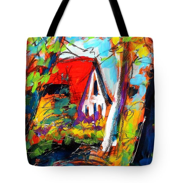 Driveway Revisited Tote Bag