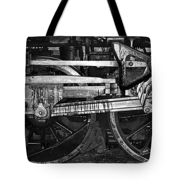 Driving Wheels Tote Bag by Richard Rizzo