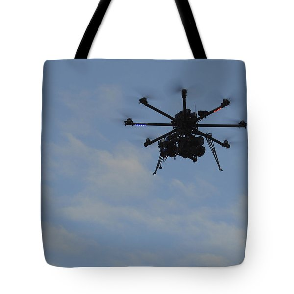 Tote Bag featuring the photograph Drone by Linda Geiger