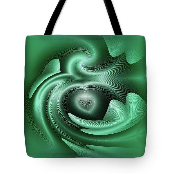 Tote Bag featuring the digital art Drone by Visual Artist Frank Bonilla