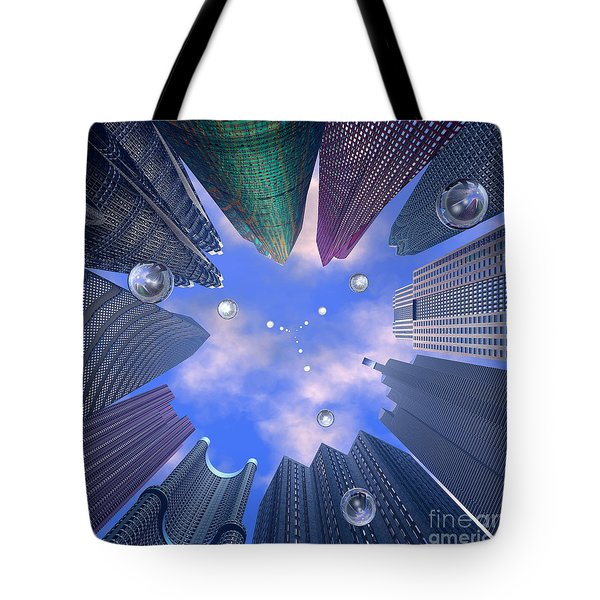 Drop Matrix 2 Tote Bag