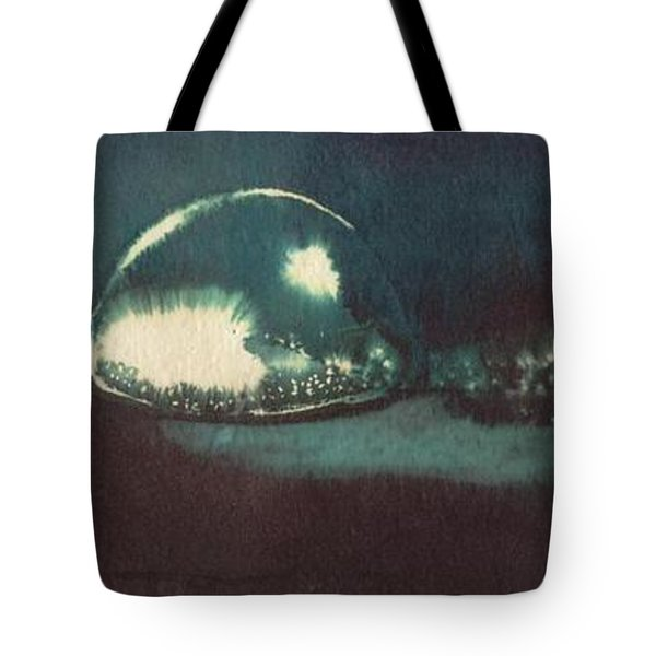 Tote Bag featuring the painting Drop Of Water by Annemeet Hasidi- van der Leij