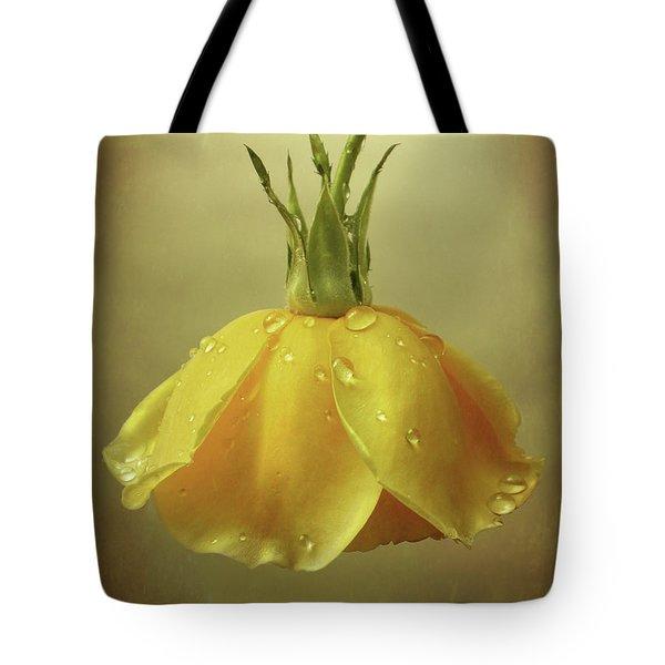 Drop Rose Tote Bag