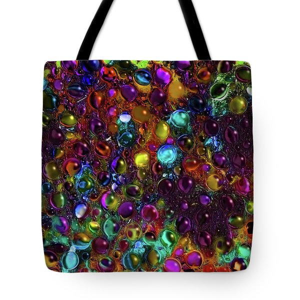 Droplet Abstract Tote Bag by Stuart Turnbull