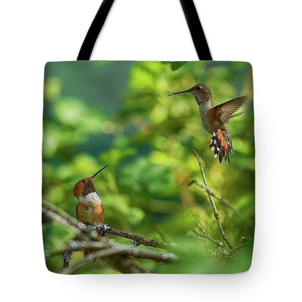 Dropped In Tote Bag