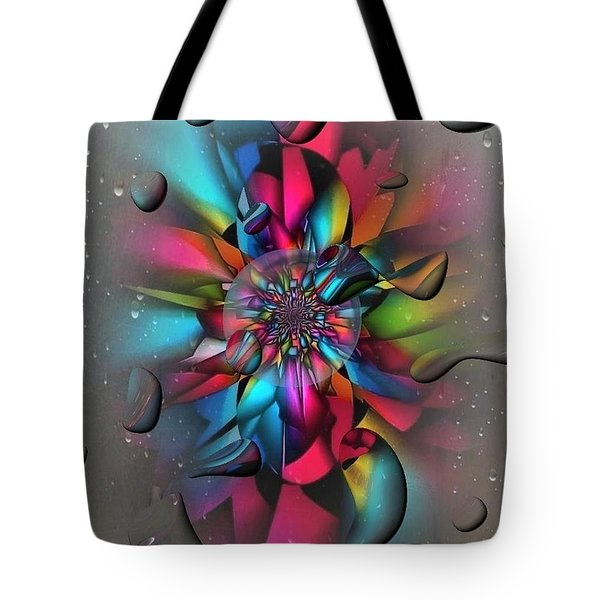 Drops By Nico Bielow Tote Bag by Nico Bielow