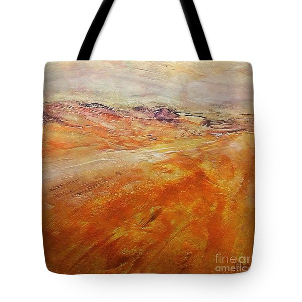 Tote Bag featuring the painting Drought by Dragica  Micki Fortuna
