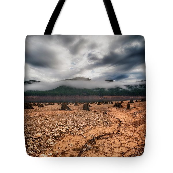 Tote Bag featuring the photograph Drought by Ryan Manuel