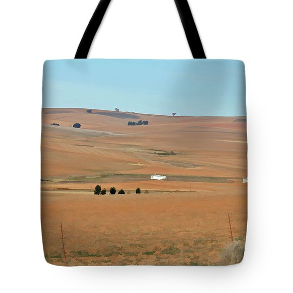 Drought-stricken South African Farmlands - 1 Of 3  Tote Bag