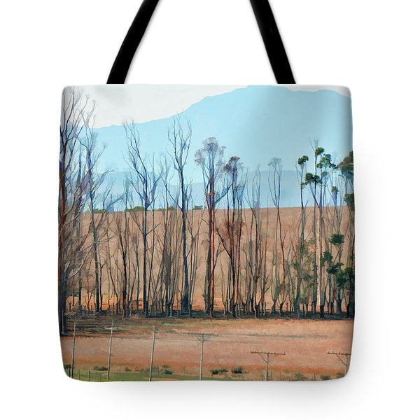 Drought-stricken South African Farmlands - 3 Of 3 Tote Bag