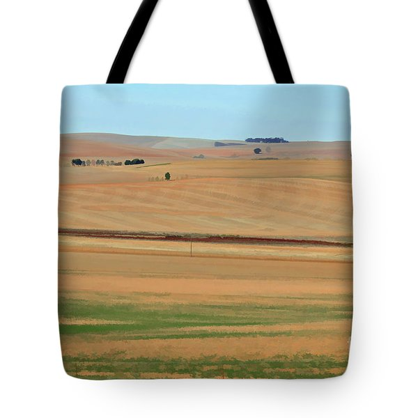 Drought-stricken South African Farmlands - 2 Of 3  Tote Bag