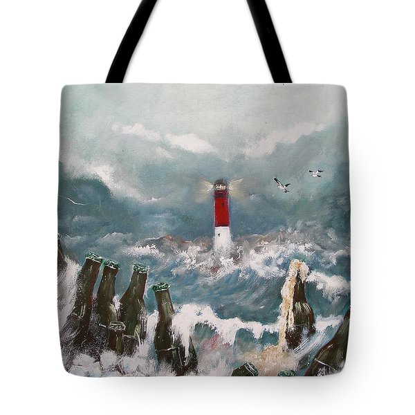 Drown In Alcohol Tote Bag