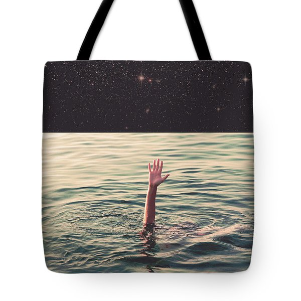 Drowned In Space Tote Bag by Fran Rodriguez