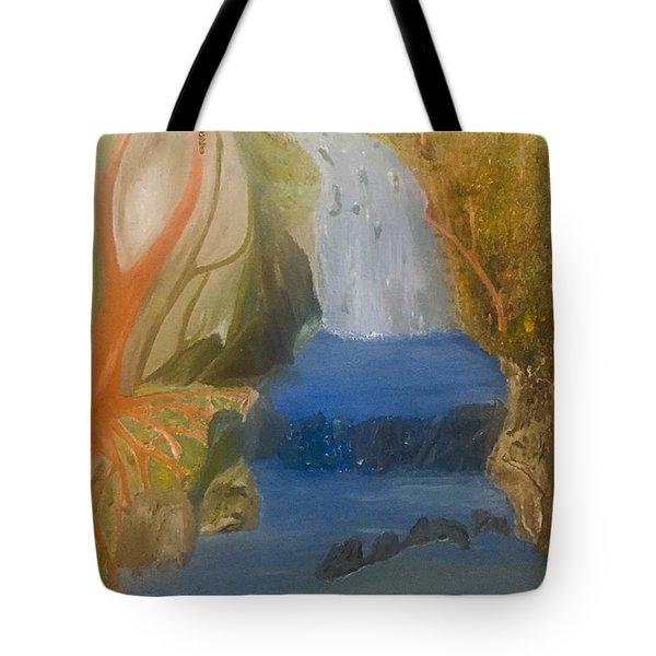 Drowning At 7 Conversations Series Tote Bag