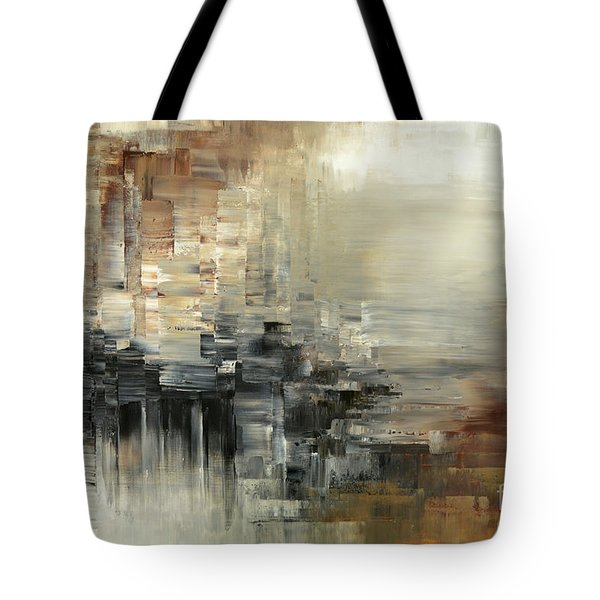 Tote Bag featuring the painting Drowsy Murmers by Tatiana Iliina