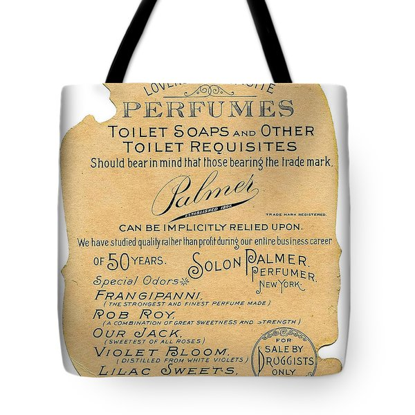 Tote Bag featuring the photograph Druggists by ReInVintaged