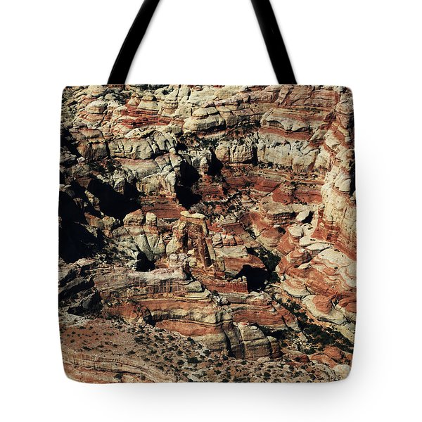 Druid Arch In Canyonlands National Park Tote Bag