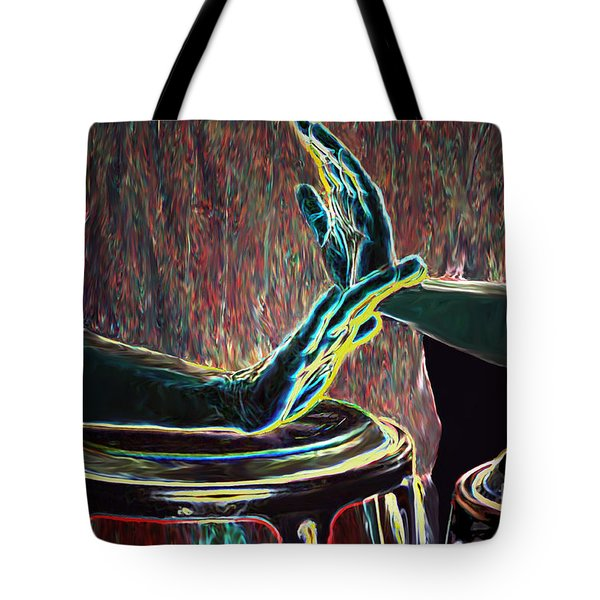 Drum Beat Heat Tote Bag