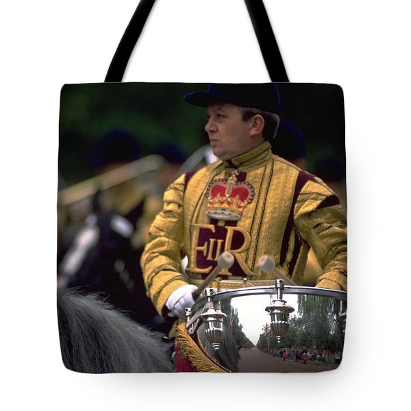 Drum Horse At Trooping The Colour Tote Bag