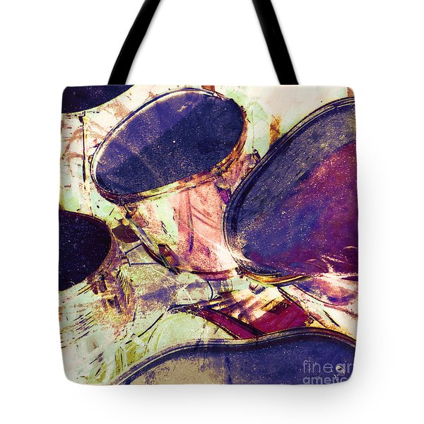 Drum Roll Tote Bag