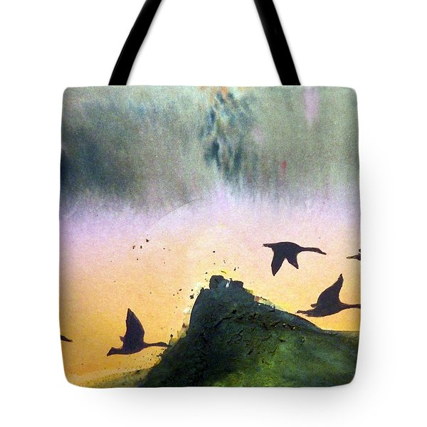 Lake Lucerne Tote Bag by Ed  Heaton