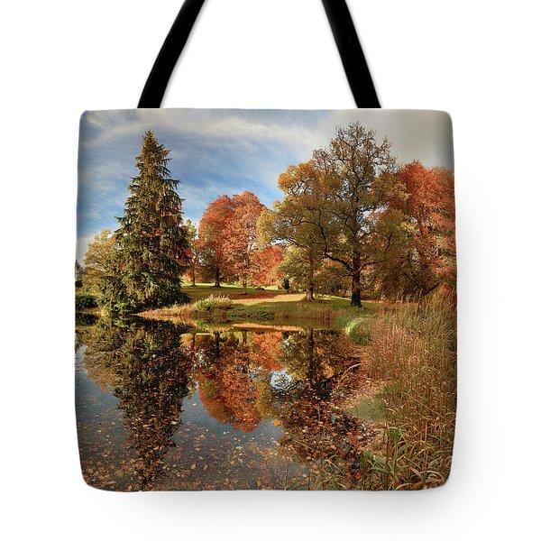 Drummond Castle Garden Tote Bag