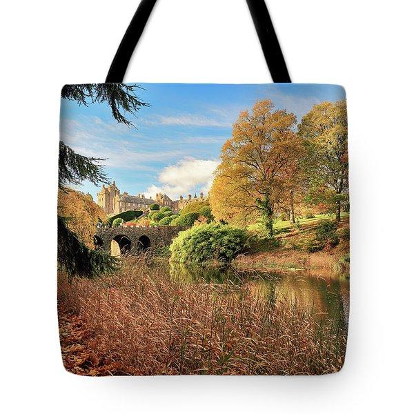 Drummond Castle Gardens Tote Bag