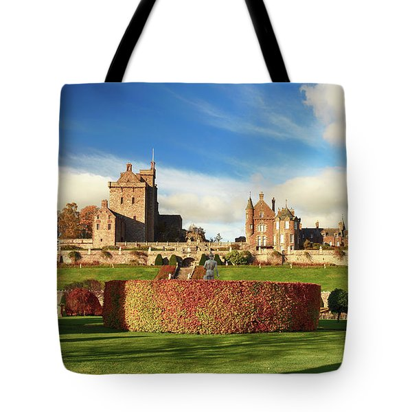 Drummond Castle  Tote Bag