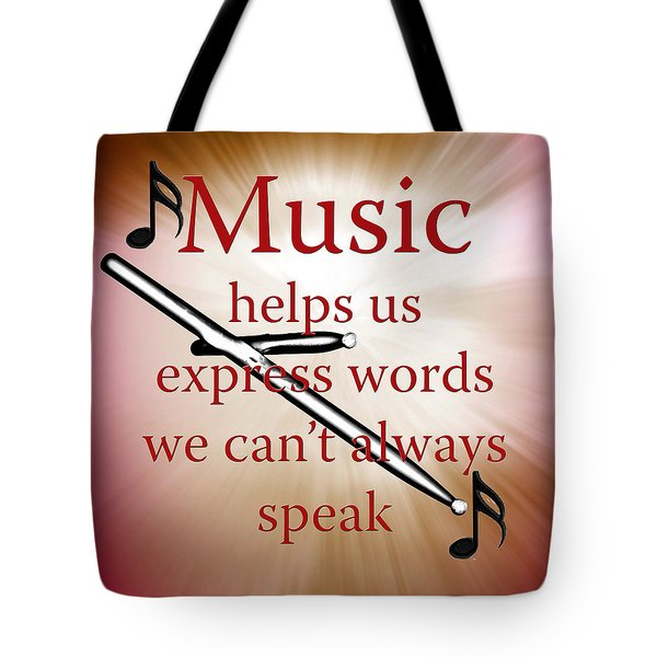 Drums And Music Fine Art Photographs Art Prints 5003.02 Tote Bag by M K  Miller