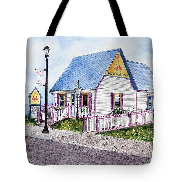 Drury Lane Books Tote Bag