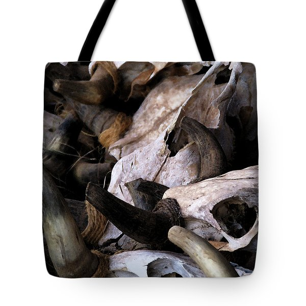 Dry As Bones Tote Bag