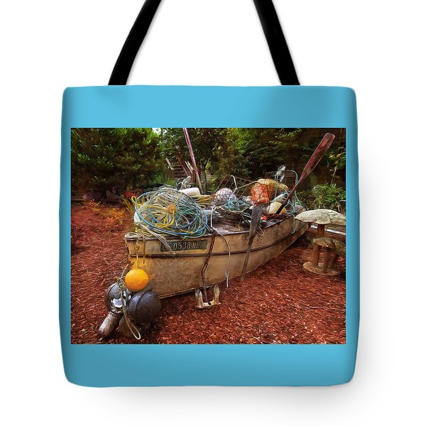 Tote Bag featuring the photograph Dry Dock Art by Thom Zehrfeld