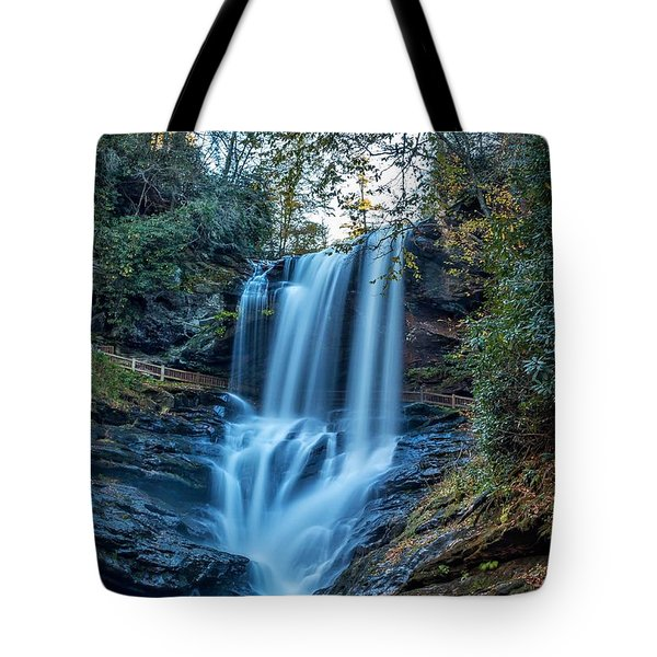 Dry Falls From The Base Tote Bag