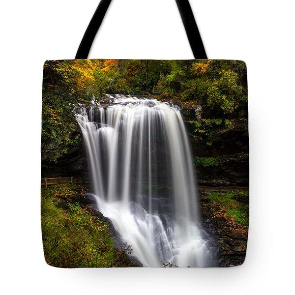 Dry Falls In October  Tote Bag