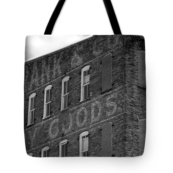 Dry Goods Tote Bag by David Lee Thompson