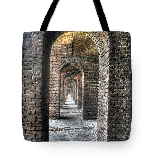 Dry Tortugas - Fort Jefferson - Doorways Tote Bag