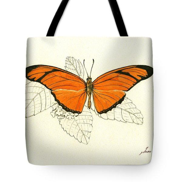 Dryas Iulia, Orange Julia Butterfly Tote Bag