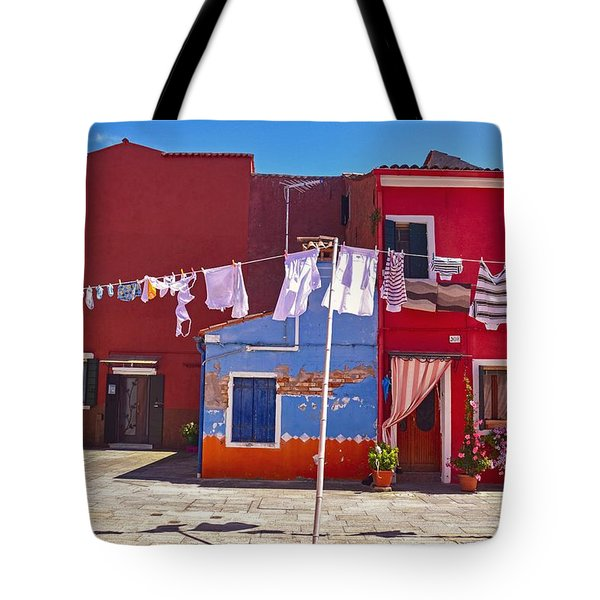 Drying Time Tote Bag