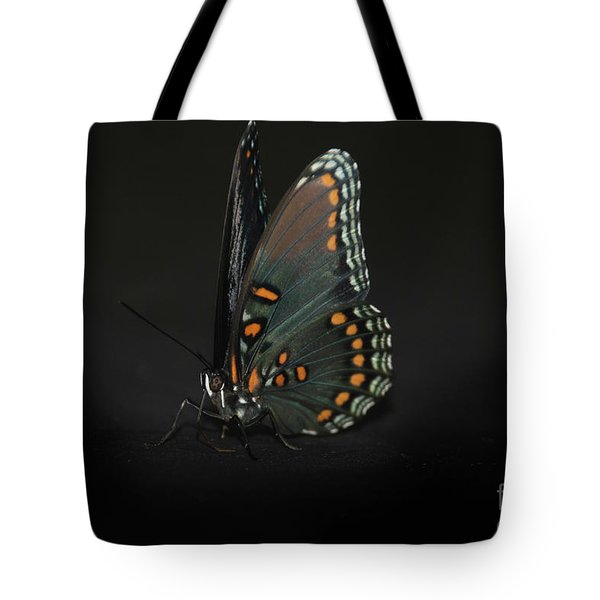 Drying Wings Tote Bag by Judy Hall-Folde