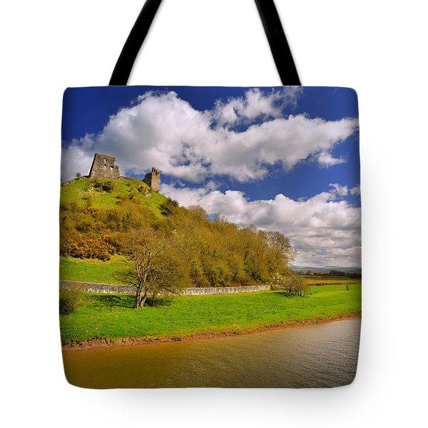 Dryslwyn Casle 1 Tote Bag